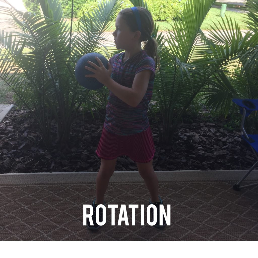 Medicine Ball Rotation