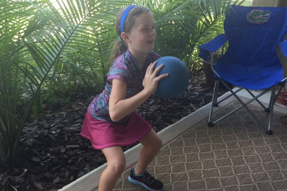 Medicine Ball Fun for Kids