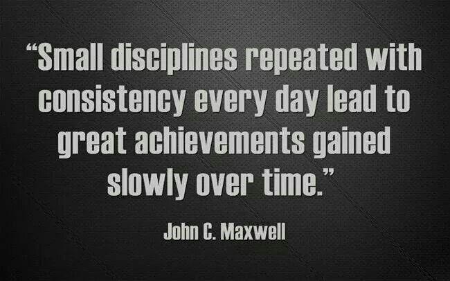 Consistency needs Discipline