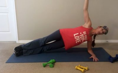 Side Planking Exercise with Weights