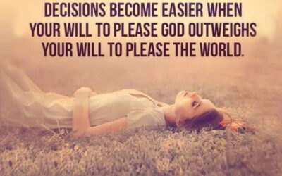 #56: Living to please God and not the world